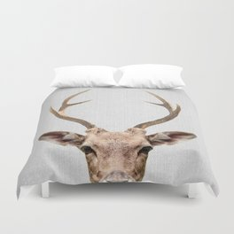 Deer - Colorful Duvet Cover