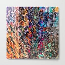 Colored Links Metal Print