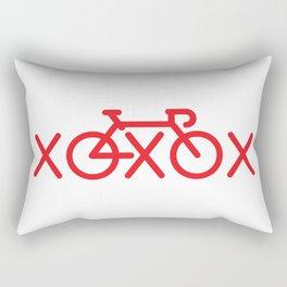 Love What You Ride Rectangular Pillow