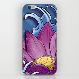 Lotus Splash iPhone Skin