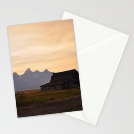 Teton Sunset Stationery Cards