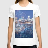 minneapolis T-shirts featuring Minneapolis Neon by Andrew C. Kurcan