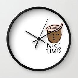 Nice Times Aubrey Wall Clock