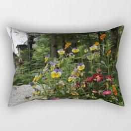 Flowers and Fun Rectangular Pillow