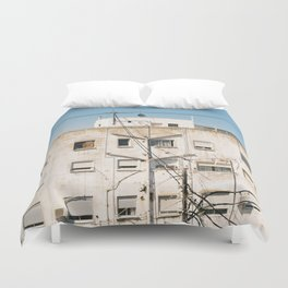 Roof of Valencia Duvet Cover