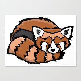 Red Panda | Animal Series | DopeyArt Canvas Print