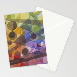 Rainbow Prism Stationery Cards