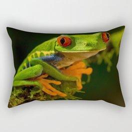 The Best Frog Rectangular Pillow