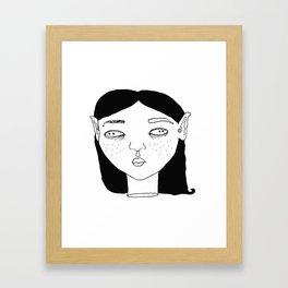 Elf #2 Framed Art Print