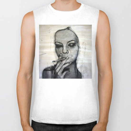 Untitled (for now) Biker Tank