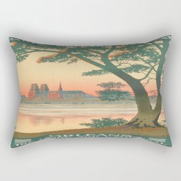 Vintage poster - Orleans Rectangular Pillow