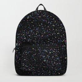 Magic Night Glitter Mandala I. Backpack