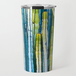 Colorful cactus painting Travel Mug