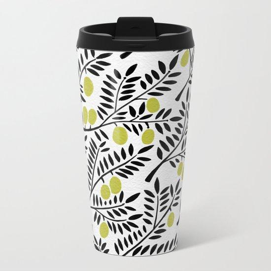 Little Lemons Metal Travel Mug