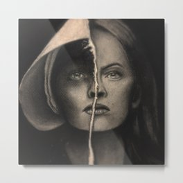 The Handmaid's Tale Portrait  Metal Print