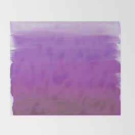 Purples No. 1 Throw Blanket