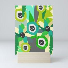 Bright tropical vibe Mini Art Print