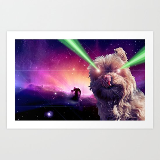 What A Wookie Art Print