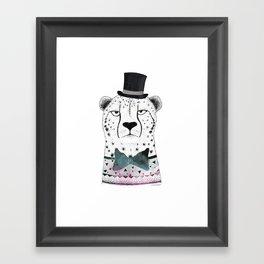 MR. CHEETAH Framed Art Print