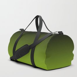Ombre | Charcoal Grey and Lime Green Duffle Bag