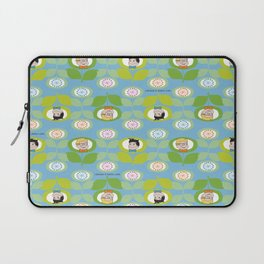 mabo & jimmy garden - blue Laptop Sleeve