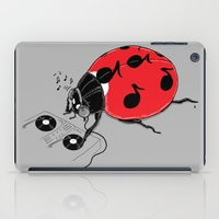 dj iPad Cases featuring DJ beatLE  by pigboom el crapo