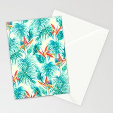 Tropical Paradise Pale Yellow Stationery Cards