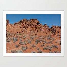 Nevada Art Print
