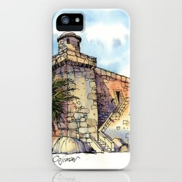Hemingway's Cuba:  Fortress at Cojimar iPhone Case