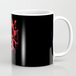 Bloody Skull | Heavy Metal Illustration Coffee Mug