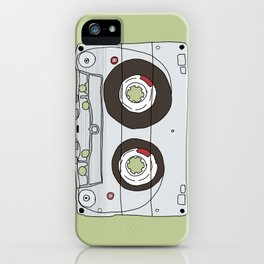 Analog Unravelled iPhone Case