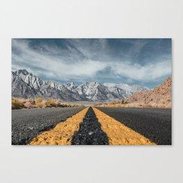 Mount Whitney Canvas Print