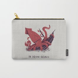 squid goals #squadgoals shirt Carry-All Pouch
