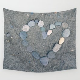 Stone Heart Wall Tapestry