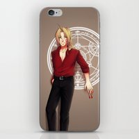 fullmetal alchemist iPhone & iPod Skins featuring Seal of an Alchemist by TEAM JUSTICE ink.