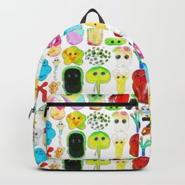 Rainbow Microbes Backpack