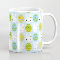 Kawaii Easter Bunny & Eggs Mug