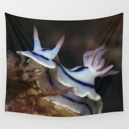 Blue hungry nudi Wall Tapestry