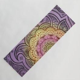Colorful Mandala Yoga Mat