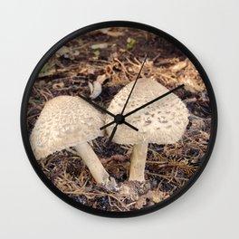 Shaggy Parasol 2 Wall Clock