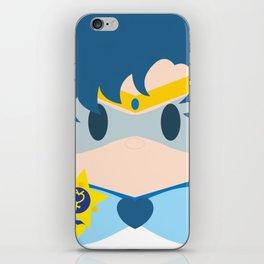 Sailor Mercury Block iPhone Skin