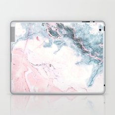 Blue and Pink Marble Laptop & iPad Skin