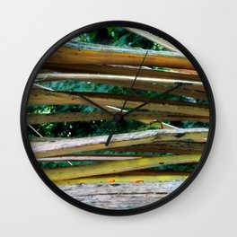Cracking Branch Wall Clock