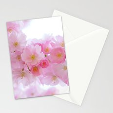 Pink Japanese Cherry Tree Blossom Stationery Cards