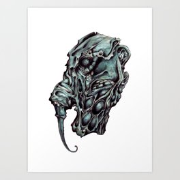 Elephant Man Art Print