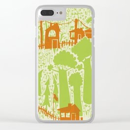 Forces of Nature Clear iPhone Case