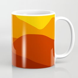 Mountains at Sunset  #society6 #decor #buyart #artprint Coffee Mug