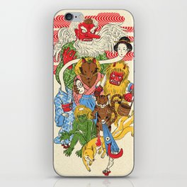 Monster Parade iPhone Skin