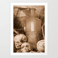 Potions Art Print