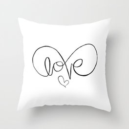 Eternalove Throw Pillow